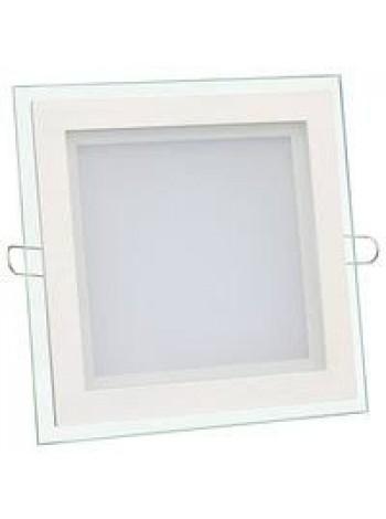 Купить Светильник светодиодный Biom GL-S18 W 18Вт квадратный белый