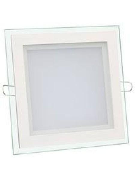Светильник светодиодный Biom GL-S6 W 6Вт квадратный белый/теплый белый