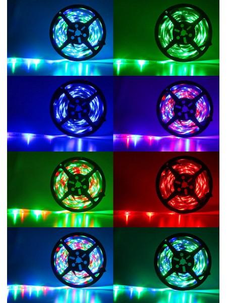LED лента Biom 220V SMD3528 60led/m 4W IP68 Белый/LED лента Biom 220V SMD3528 60led/m 4W IP68  белый/теплый белый/красный/синий /зеленый (бобина 100м)