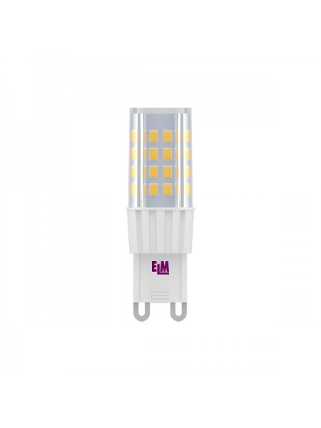 Лампа светодиодная капсула C21 4W G9 4000K керам. корп. 18-0125