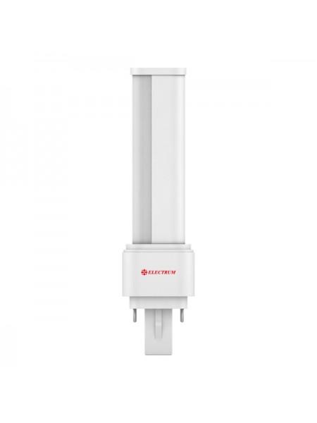 Лампа світлодіодна компактна PL-поворотна LW-14 9W G24 4000K алюмопл.. корп. A-LW-0476